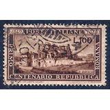 Italia. Centenario De La República. Vfus Ítem L03p424