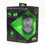 Mouse Gamer Optical Con Luz Multi-colores 4 Botones Alta Vel
