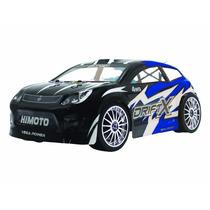 Carro Himoto E18dt 2.4ghz Drift X Azul 4wd Rtr Automodelo Rc