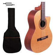 Guitarra Criolla Gracia G10 Clasica Con Corte + Funda