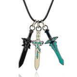 Colar Sword Art Online Espada Asuna Yuki Unissex Novo