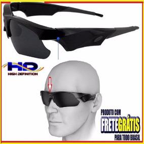 40a5f8b8d8e8a Óculos De Sol Com Câmera Hd 1080p Super Discreta