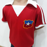 Camiseta De Chile Retro Niño  - Mps Mipolera