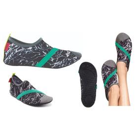 Zapatos Deportivos Acuaticos. Dama Color Grafito. Talla Med