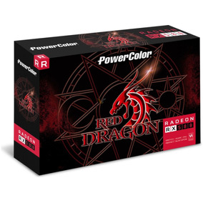 Tarjeta De Video Radeon Rx 580 Power Color 8gb Gddr5