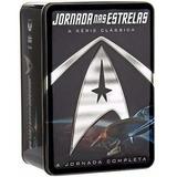 Jornada Nas Estrelas A Serie Classica C/ 23 Dvd + Lata Novo