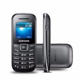 Celular Samsung E-1205 Para 1 Chip Tela 1.0 Preto Bonito