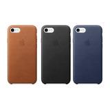 Funda Iphone 7 Y 7 Plus Leather Case Pu Apple Envio Gratis
