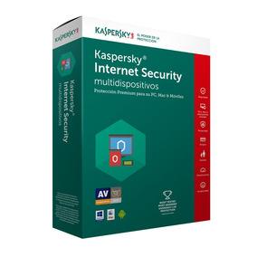Antivirus Kaspersky 2018 Internet Security 4 Lic 1 Año