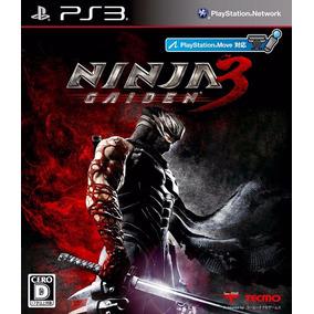 Ninja Gaiden 3 Ps3 Original Nuevo Fisico Sellado