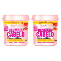 Combo Desmaia Cabelo Original Forever Liss 350g + 350g