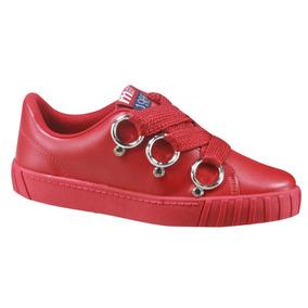 82605ba345 Calcados Femininos Tenis Olimpicos Moleca - Sapatos para Feminino no ...