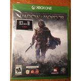 Juego Xbox One Shadow Of Mordor Original