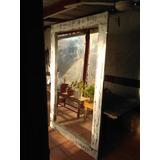 Espejo Rustico Madera Vintage . Decapada, Fraguada Palet