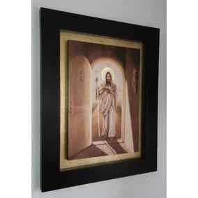Cuadro Jesus De Nazaret Litografía Marco De Cajón