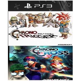 Chrono Trigger E Chrono Cross - Combo [2 Em 1] - Ps3 Cod Psn