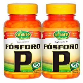 Combo 02 Fósforo P 60 Comprimidos De 900mg Unilife