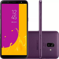 Celular Samsung J8 64gb Violeta Tela 6'' 4g
