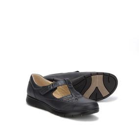 Choclo Zapatos Onena 1140 Azul Dama Niña Juvenil Fexible