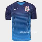 Camisa Nike Corinthians Azul Original 2016/2017 Jogador Nova