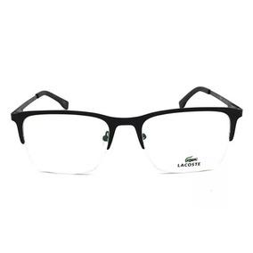 Armação Oculos Grau Original L2241 Titânio Meio Aro Nylon 2eba56a74e