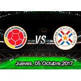 Boletas Sur Baja Partido Colombia Vs Paraguay 5/10/17
