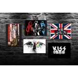 Placas Decorativas Vintage Rock N