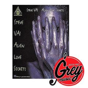 Libro Hal Leonard Hl00690039 Steve Vai: Alien Love Secrets..