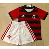 Kit Infantil Flamengo 18/19 Lançamento adidas