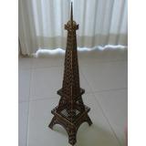 Torre Eiffel Madeira 65cm Mdf 3mm Corte Laser Paris Réplica