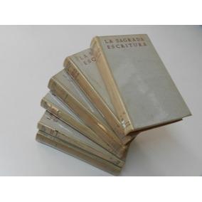 La Sagrada Escritura Antiguo Testamento 6 Volumes