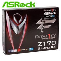 Motherboard Asrock Fatal1ty Z170 Gaming K4 Z170 6ª Gen Ddr4