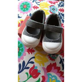 Zapatillas Zapatos Nena Mimo Animal Print Gris Talle 21/22