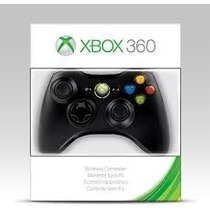 Controle Sem Fio Microsoft Xbox 360 Preto ( Original )