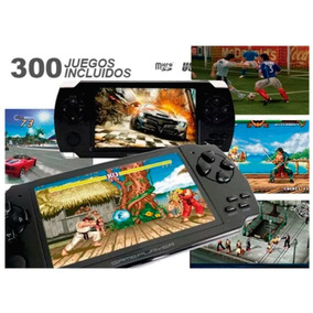 Mp5 Mp4 Mp3 Mini Consola Portátil 300 Juegos Reproductor