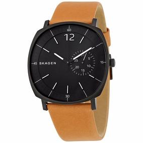 Relógio Skagen Masculino Skw6257 Preto Marrom - Nota Fiscal
