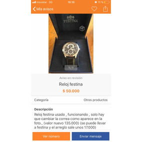 a393e7be0140 Reloj Festina Hombre F16585 - Relojes Festina Otros de Hombres ...