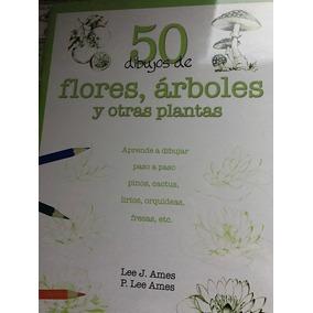 Livro Como Desenhar Flores E Árvores- Importado