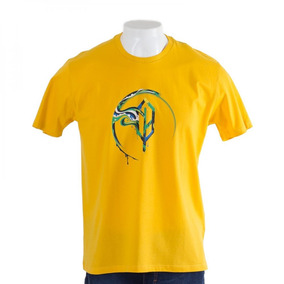 Camiseta World Cup Amarela