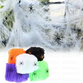 Telaraña Tela De Araña Cotillon Halloween Spiderman Hombre