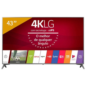 Smarttv 4k Led 43 Lg 43uj6565, Ultra Hd, 4hdmi, 2usb, Wi-fi