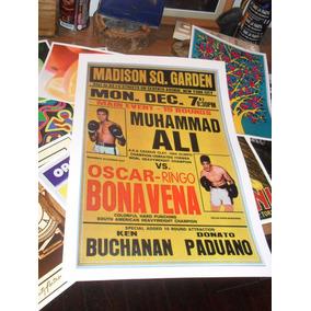 Poster Box Laminas Afiches Ali Joe Frazier Foreman Tyson