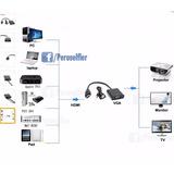 Adaptador Conversor Convertidor Hdmi A Vga Audio Auxi Video