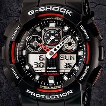 Reloj Casio G Shock Ga 100 / Antimagnético / Cristal Mineral
