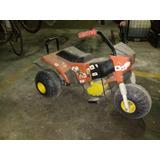 Triciclo Infantil A Motor Con Bateria - Usado