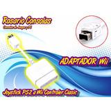 Adaptador Joystick Ps2 A Wii Control Clasico Rosario