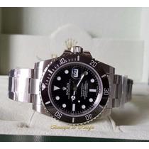 Relógio Eta 3135 Submariner Dial Preto Noob Best Edition V7