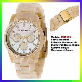 b9f9a0bf175 Relogio Michael Kors Madreperola Mk5039 - Joias e Relógios no ...