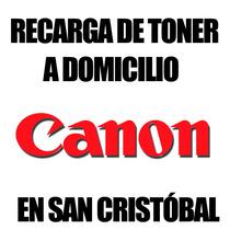Recarga De Toner Canon A Domicilio En San Cristobal