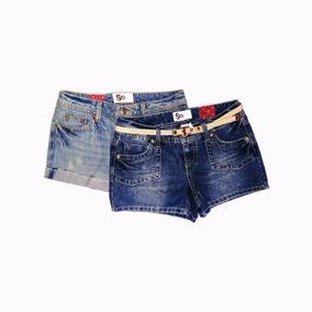 Set 2 Shorts So Original Mujer Talla 3 Cod 2292